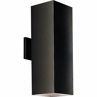 Brayden Studio Zoller 2-Light Outdoor Sconce