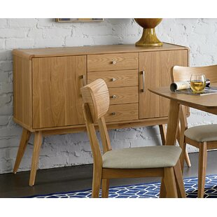 Fakenham Wooden 4 Drawer Server by Corrigan Studio