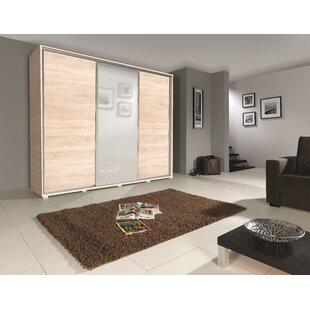 Chalker 3 Door Sliding Wardrobe By Brayden Studio