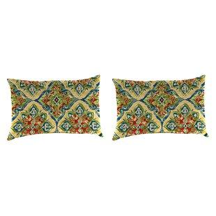 Willman Accessory Toss Indoor/Outdoor Lumbar Pillow (Set of 2)