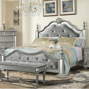 Aaden Upholstered Panel Bed