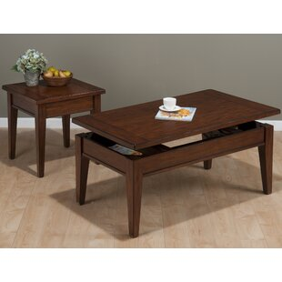 Alcott Hill Lockett 2 Piece Coffee Table Set
