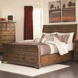 Canup Storage Sleigh Bed by Charlton Home®