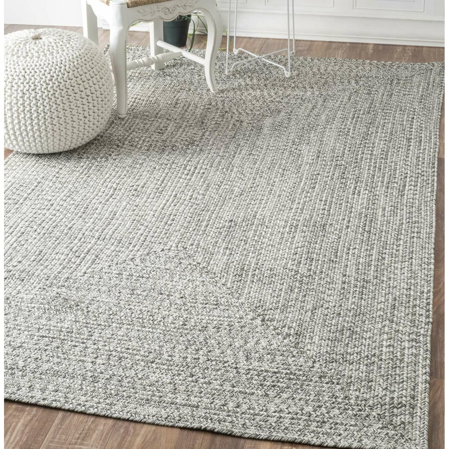 Wade Logan Kulpmont Gray Indoor/Outdoor Area Rug & Reviews ...