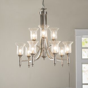 Birch Lane™ Marcet 9-Light Shaded Chandelier