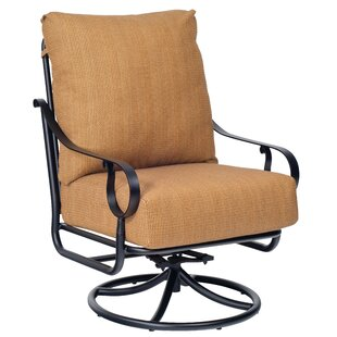 Ridgecrest Swivel Rocking Chair by Woodard