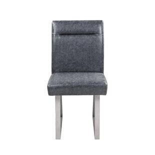 Wauwatosa Upholstered Dining Chair (Set of 2) Orren Ellis