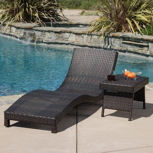 Home Loft Concepts Cabrillo 2 Piece Chaise Lounge Set