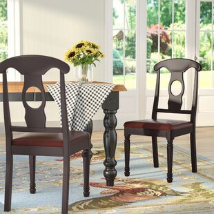 Aimee Faux Leather Dining Chair (Set of 2)