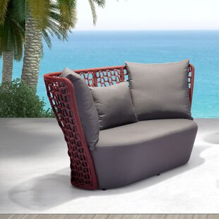 Baylee Beach Loveseat with Cushions
