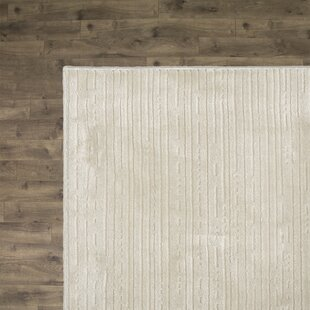 Best Reviews Bercume White Rug By Orren Ellis