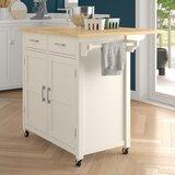 Moorman Kitchen Cart by Ebern Designs