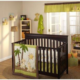 Lion King Wild About You 4 Piece Crib Bedding Set