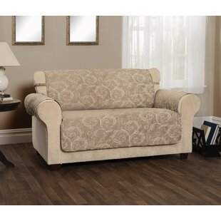 Reviews Scroll Jacquard Sofa Slipcover by Winston Porter Reviews (2019) & Buyer's Guide