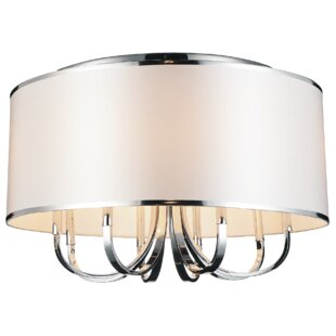 CWI Lighting Orchid 8-Light Flush Mount