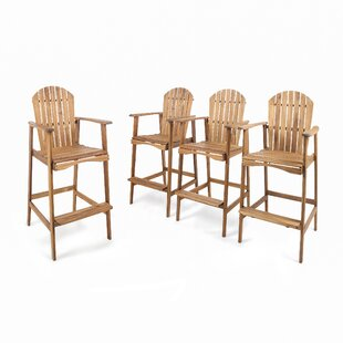 Rosecliff Heights Courts Solid Wood Adirondack Chair