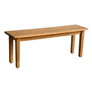 Best Choices Kissling Wood Bench By Ophelia & Co.