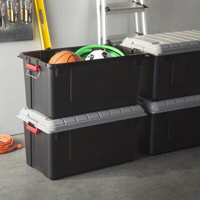 IRIS 21 Gallon Weathertight Heavy Duty Storage Tote Reviews Wayfair