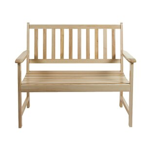 Dake Wooden Bench By Sol 72 Outdoor