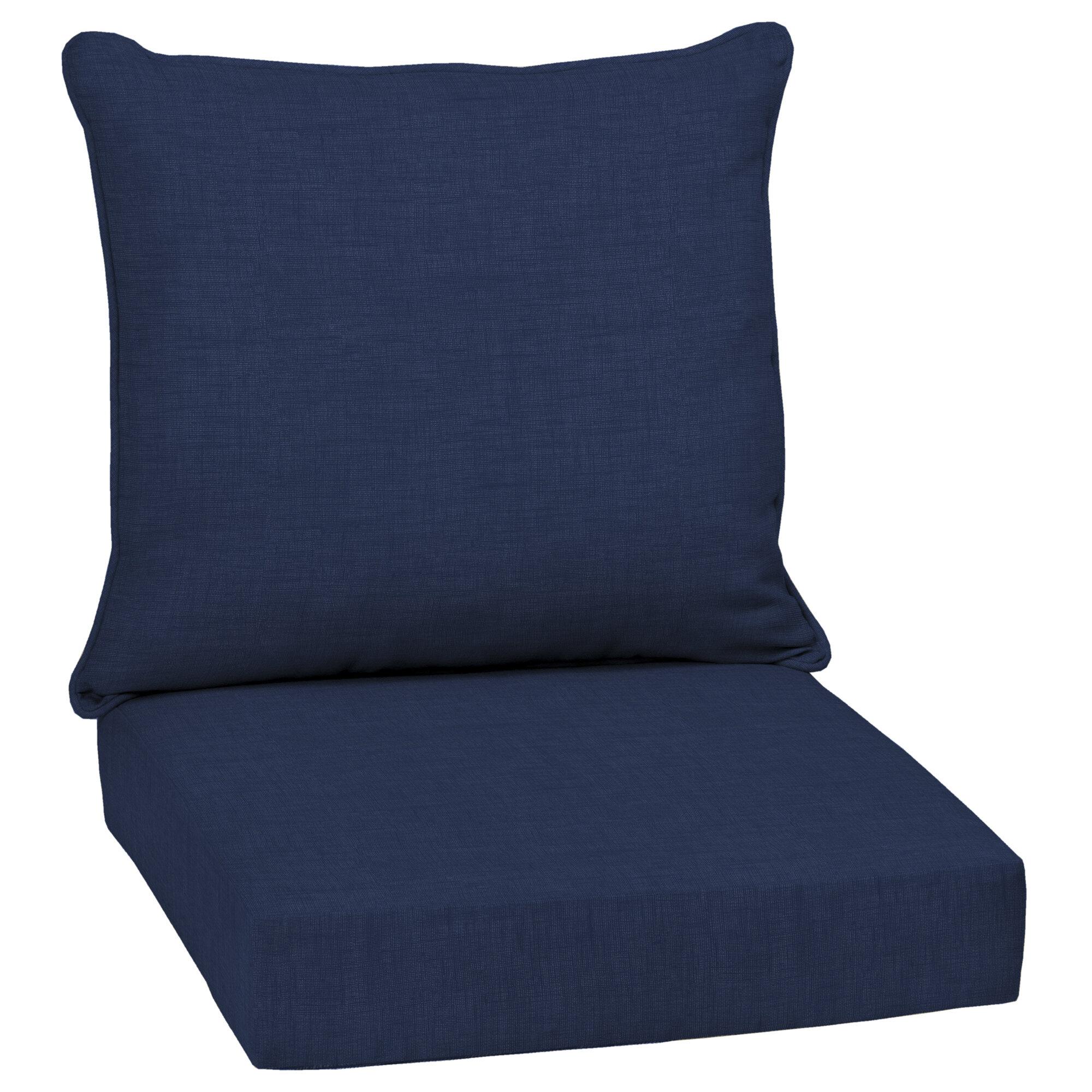 Lounge Chair Patio Furniture Cushions High Back Patio Chair Cushions You Ll Love In 2020 Wayfair