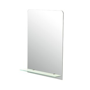 Brayden Studio Frameless Wall Mirror