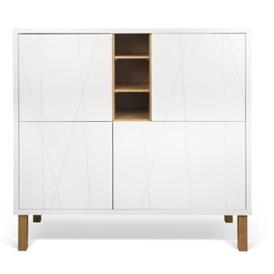 Crossen Cupboard with Notched Door Accent Cabinet by George Oliver