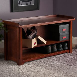 Savings Alasan Wooden Storage Bench By Alcott Hill