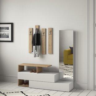 Caddy 6 Piece Hallway Set By Zipcode Design