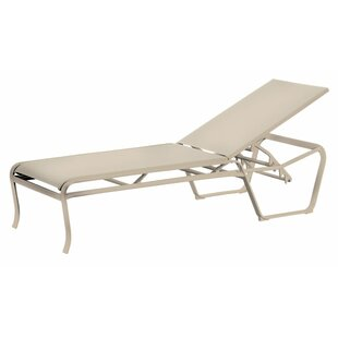 Spinnaker Reclining Chaise Lounge by Tropitone Best