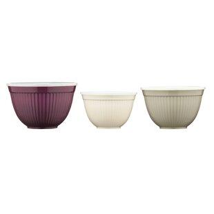 3 Piece Melamine Storage Bowl Set By Symple Stuff