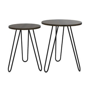 Ivaan 2 Piece End Table Set by Brayden Studio
