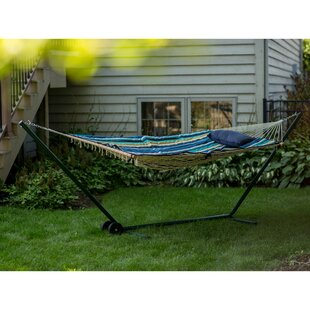 Aleisha 4 Piece Polyester Hammock with Stand Set by Bayou Breeze