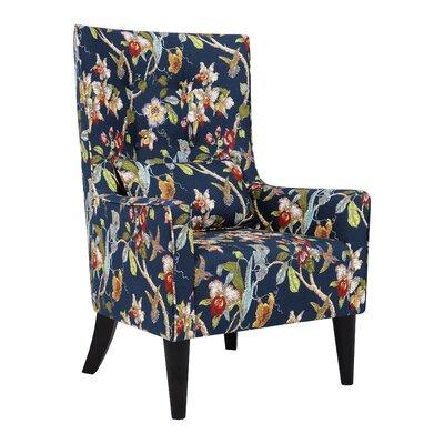 Admirable Laurel Foundry Modern Farmhouse Copperfield Wingback Chair Short Links Chair Design For Home Short Linksinfo