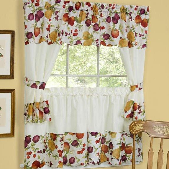 Chesapeake Embellished Cottage Curtains Set from Wayfair!