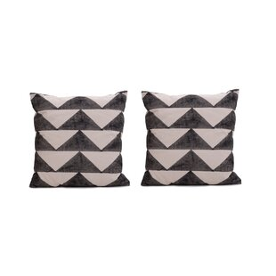 Allums Triangles Throw Pillow Covers