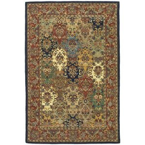 Balthrop Wool Hand Tufted Area Rug