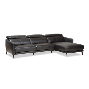 2 Piece Chaise Sectional | Wayfair