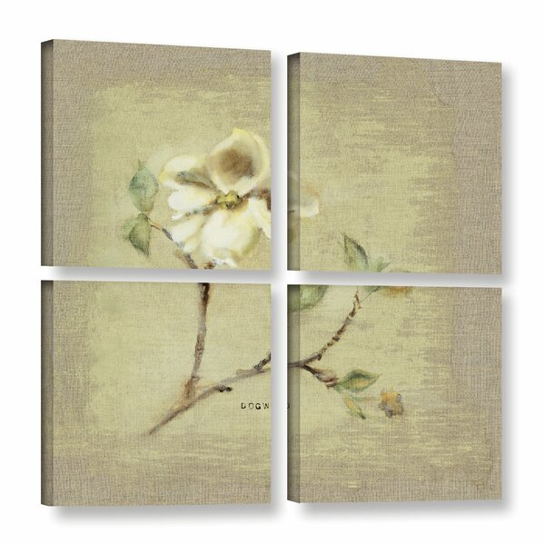 36 x 48 ArtWall Vincent Van Goghs The Dance Hall at Arles 4 Piece Gallery Wrapped Canvas Set