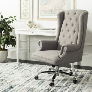 Willa Arlo Interiors Ranae Swivel High-Back Executive Chair