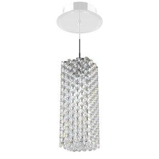 Schonbek Refrax 1-Light Crystal Pendant