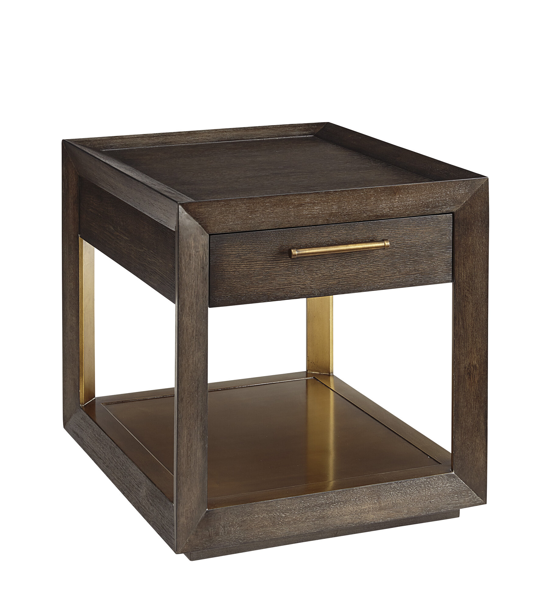 Traditional Neutrals Balch End Table Perigold