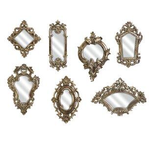 Lark Manor Lauria 7 Piece Victorian Inspired Mirror Set