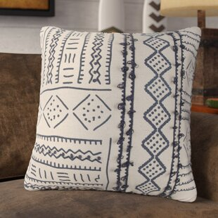 Stef Decorative 100% Cotton Throw Pillow