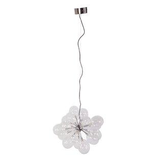 Orren Ellis Scroggins 19-Light LED Sputnik Chandelier