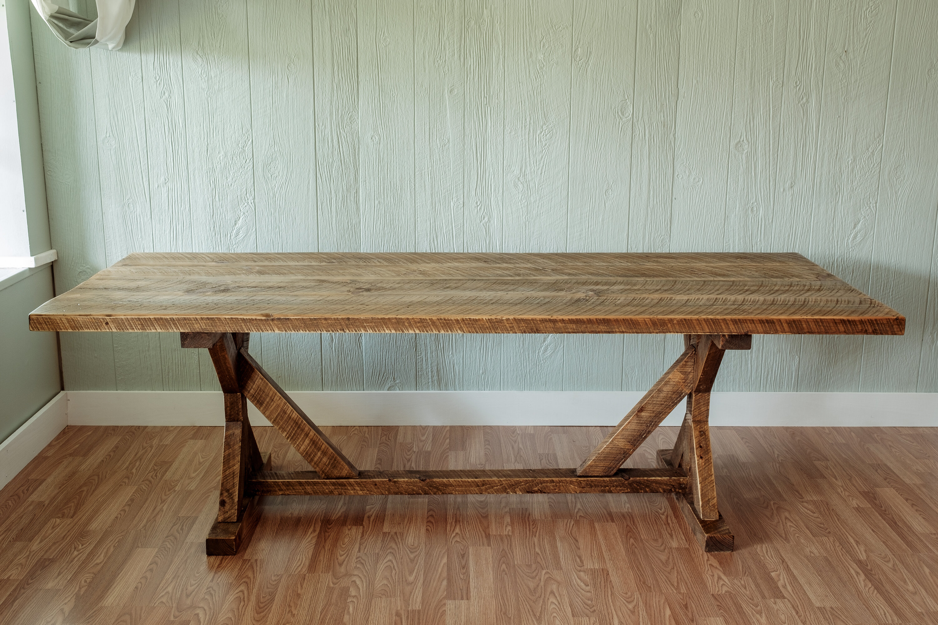 Millwood Pines Mitzi Reclaimed Wood 30 Dining Table