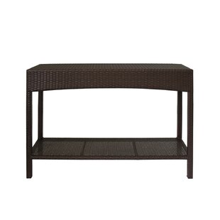 Levins Rattan Console Table