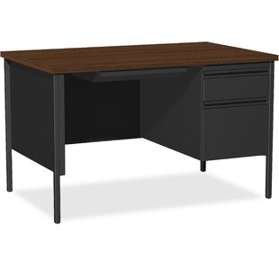 Fortress Pedestal Desk by Lorell Comparison