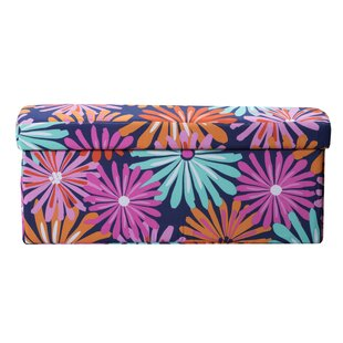 Dreaming of Daisies Storage Ottoman
