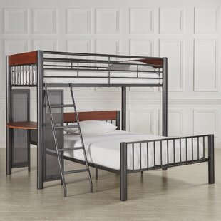 Lesa L-Shaped Bunk Bed with Desk