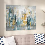 City Views II - Wrapped Canvas Painting Print